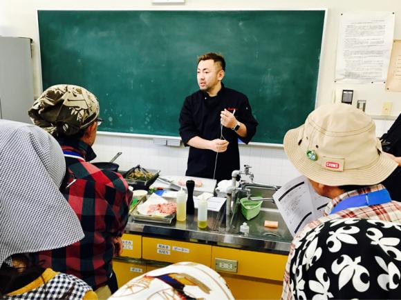 出張料理教室 @はしかみハートフルプラザ